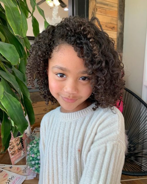 Kids Haircuts Curly Hair  18 Cutest Short Hairstyles For Little Girls in 2020