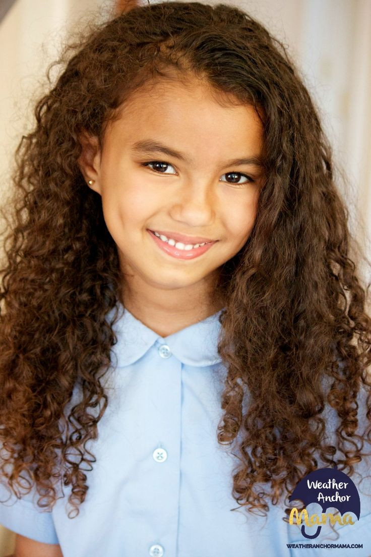 Kids Haircuts Curly Hair  Teach Kids How to Care for Curly Hair
