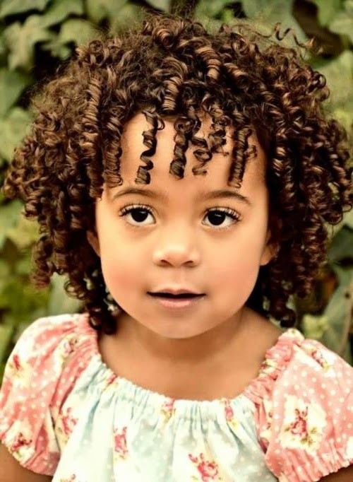 Kids Haircuts Curly Hair  Short Hairstyles For Kids Elle Hairstyles