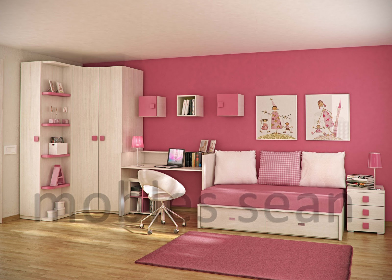 Kids Room  Space Saving Designs for Small Kids Rooms