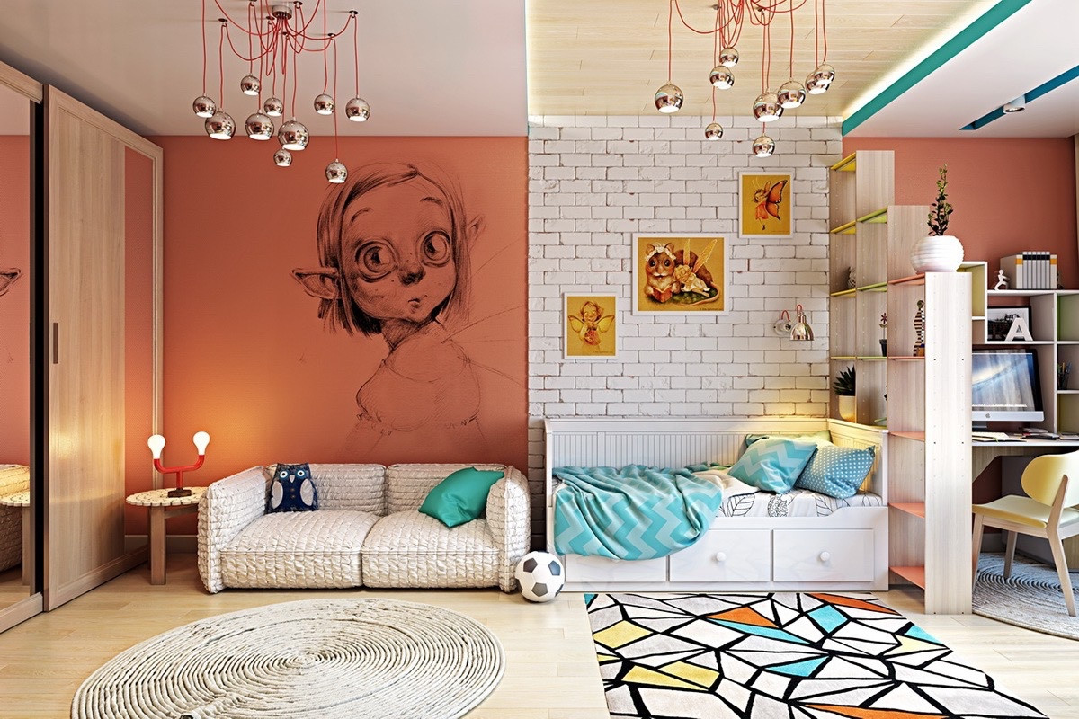 Kids Room  Clever Kids Room Wall Decor Ideas & Inspiration