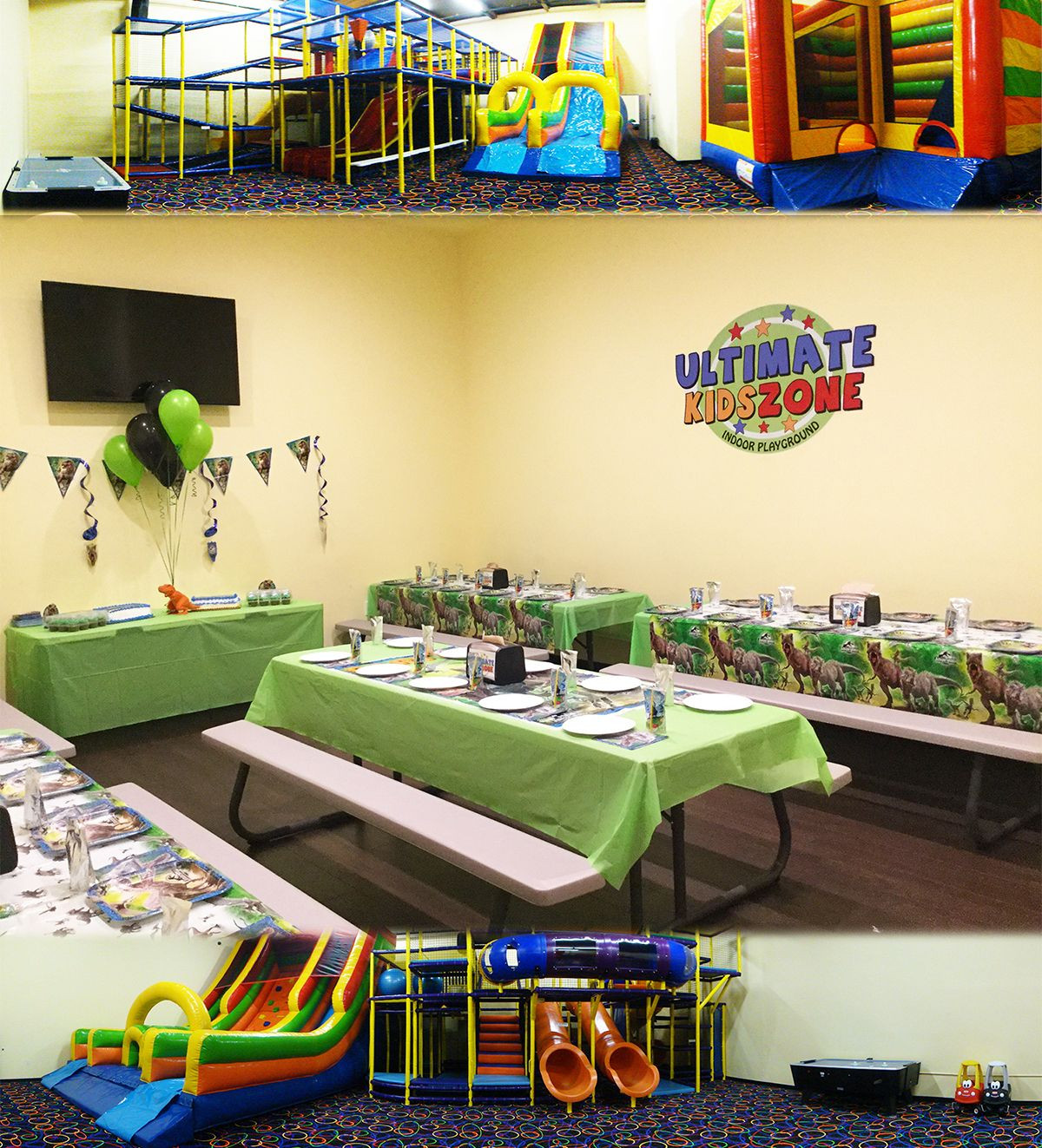 Kids Ultimate Party Zone  Host your child's birthday party in one of our 5 exciting