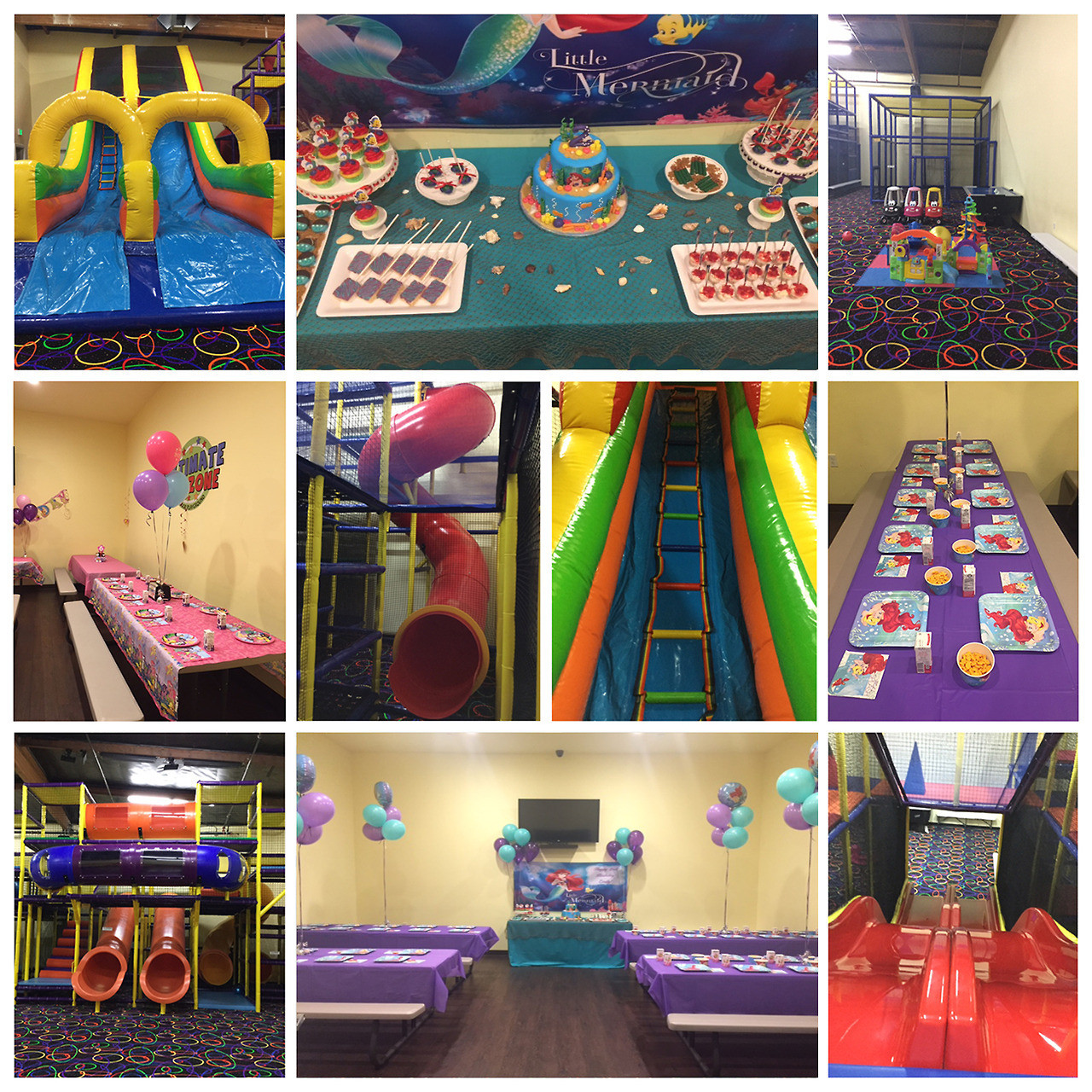 Kids Ultimate Party Zone  Ultimate Kids Zone — We're open today e slide bounce