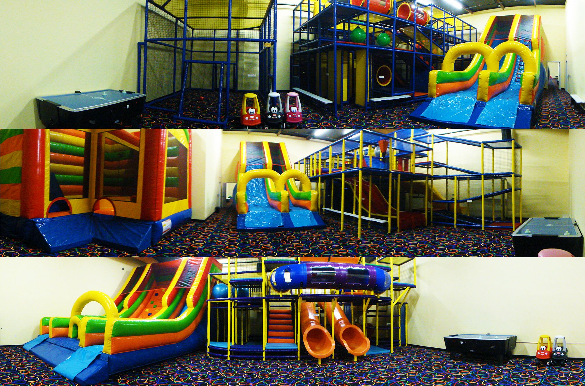 Kids Ultimate Party Zone  It's time to play We will be opening all 5 playrooms for
