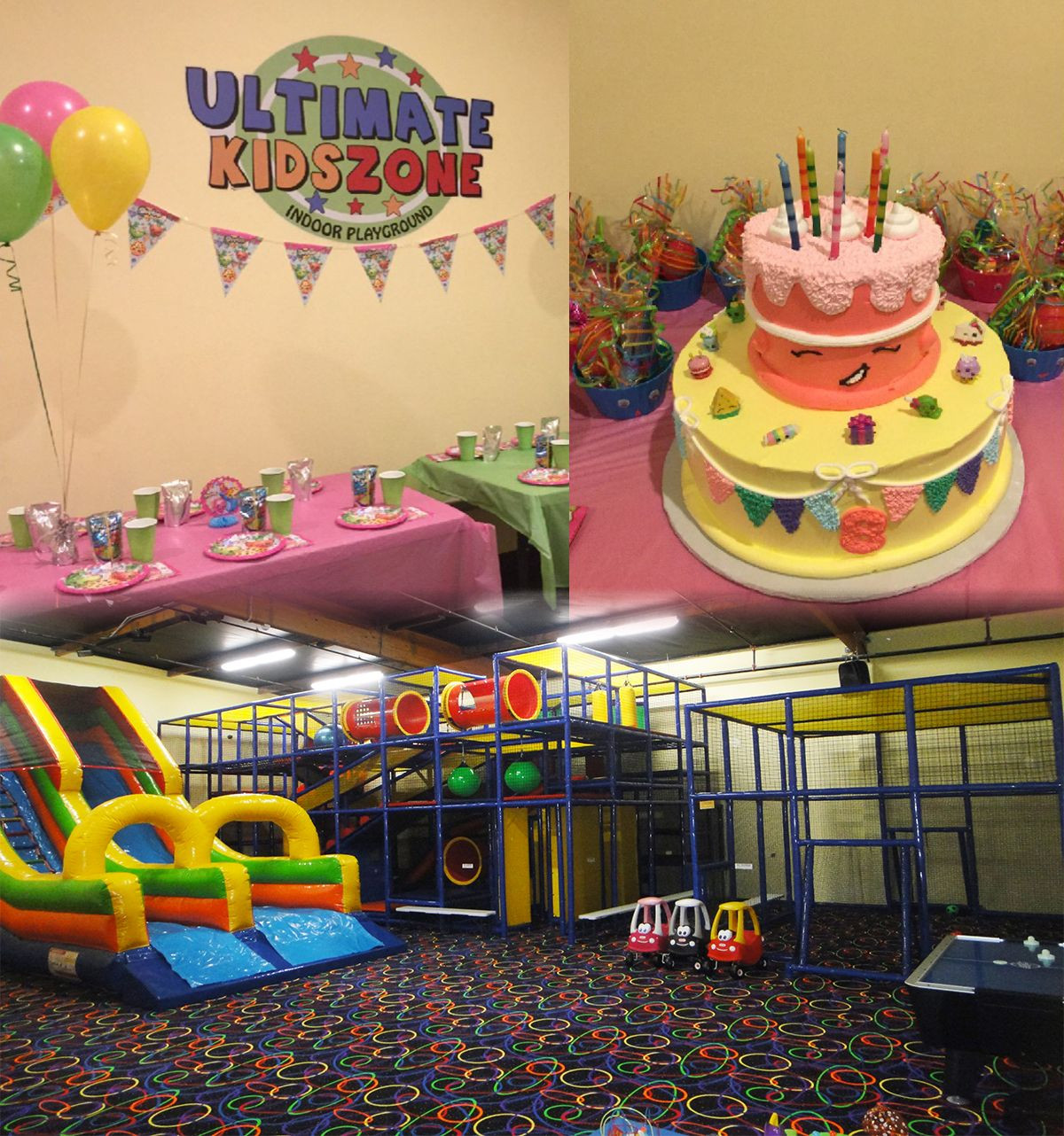 Kids Ultimate Party Zone  20 Kids running around your home is not the ideal birthday