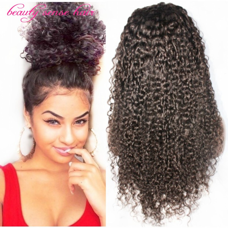 Lace Wigs Baby Hair  Hot selling silk top glueless full lace wigs Brazilian