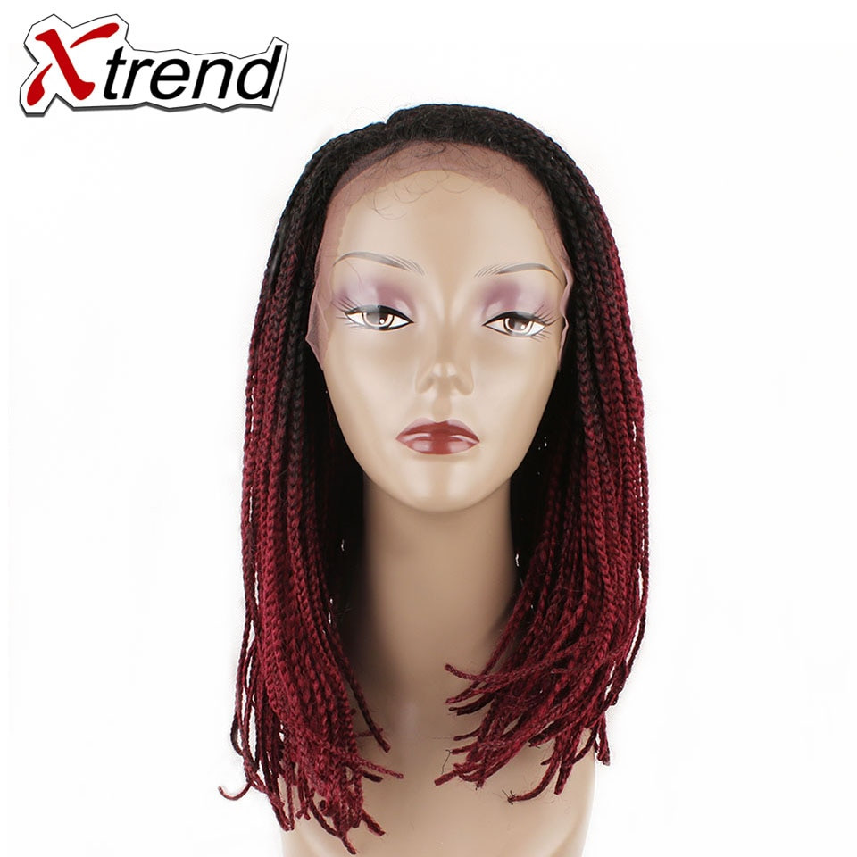 Lace Wigs Baby Hair  Xtrend 6 18inch Synthetic Lace Front Wigs Baby Hair
