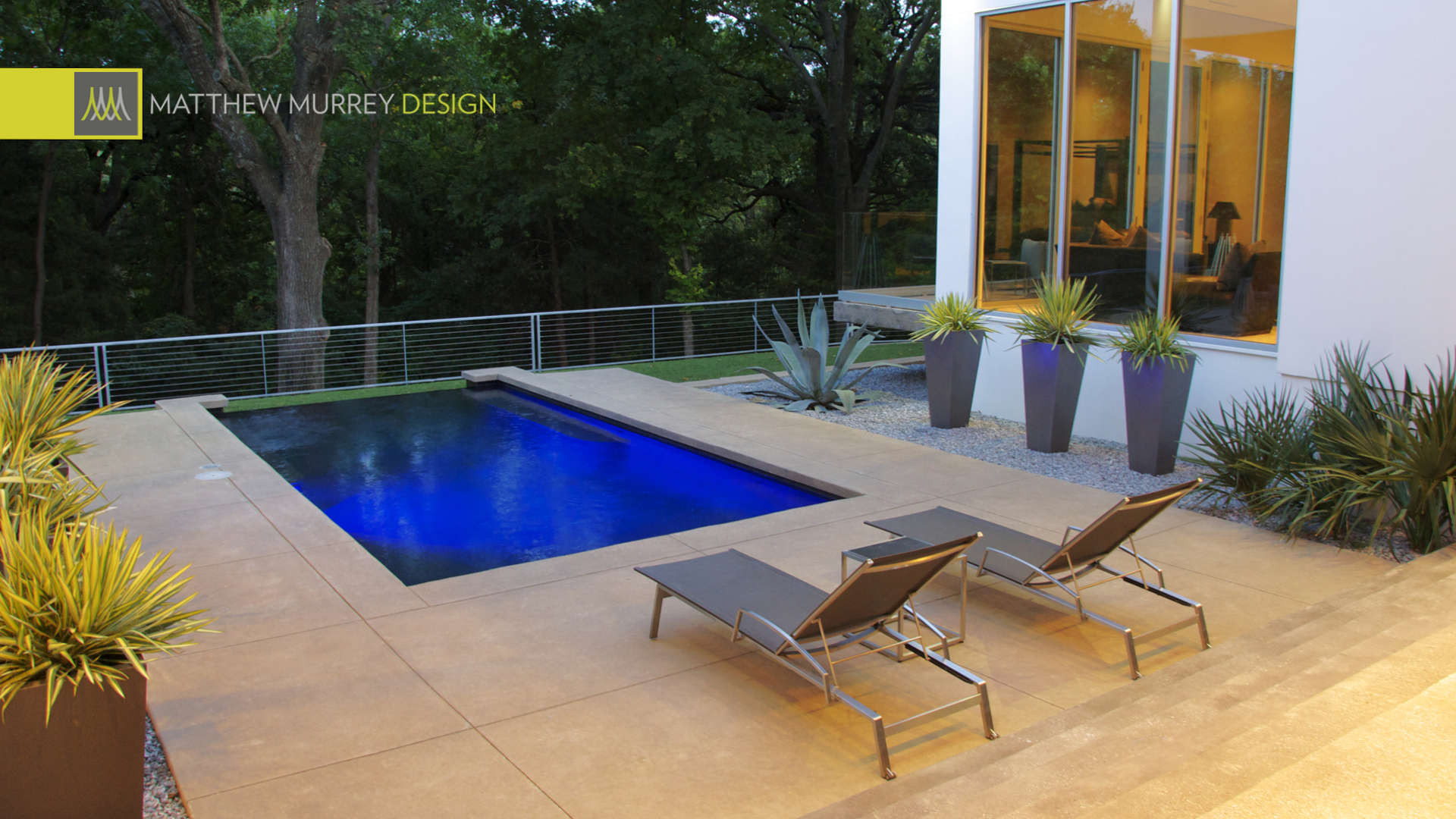 Landscape Design Dallas  Dallas Landscape Design Firm Matthew Murrey Design