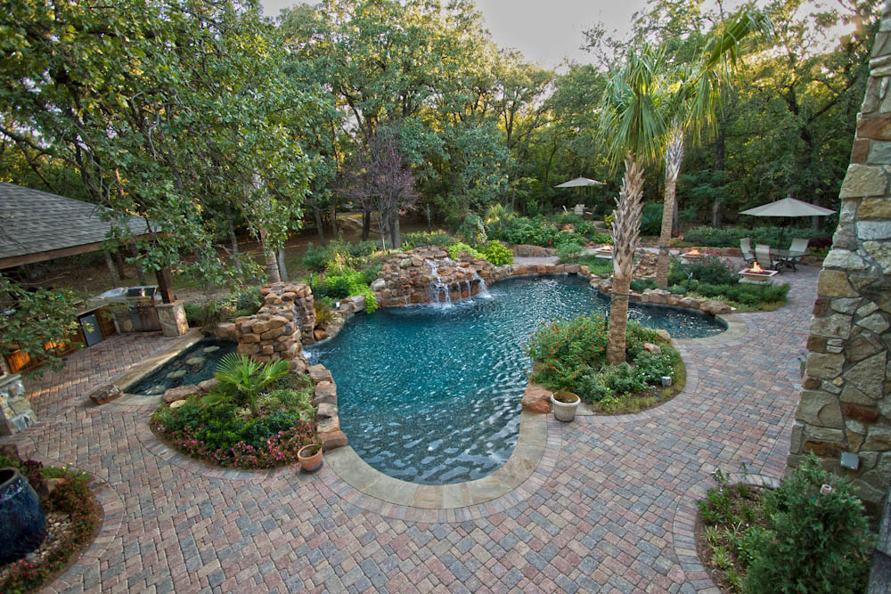 Landscape Design Dallas  Pool & Spa Dallas Landscape Design