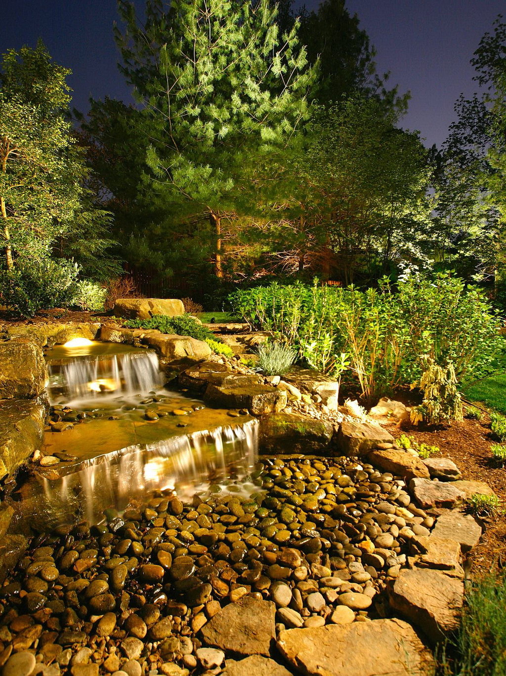 Landscape Lighting Ideas  Eye Catching Light 22 Landscape Lighting Ideas Interior