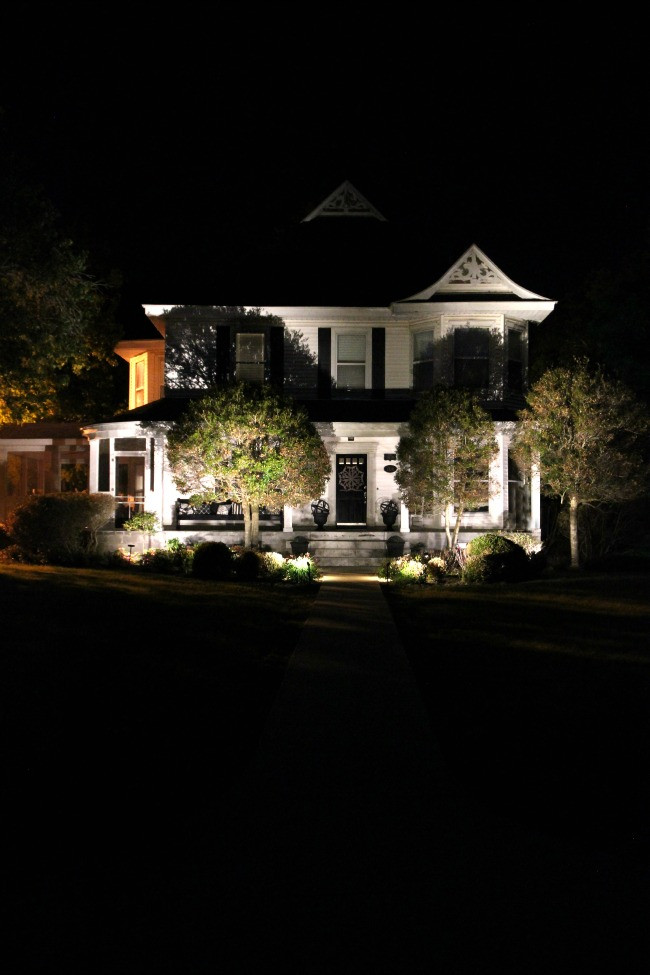 Landscape Lighting Ideas  Simple Landscape Lighting Ideas Thistlewood Farm