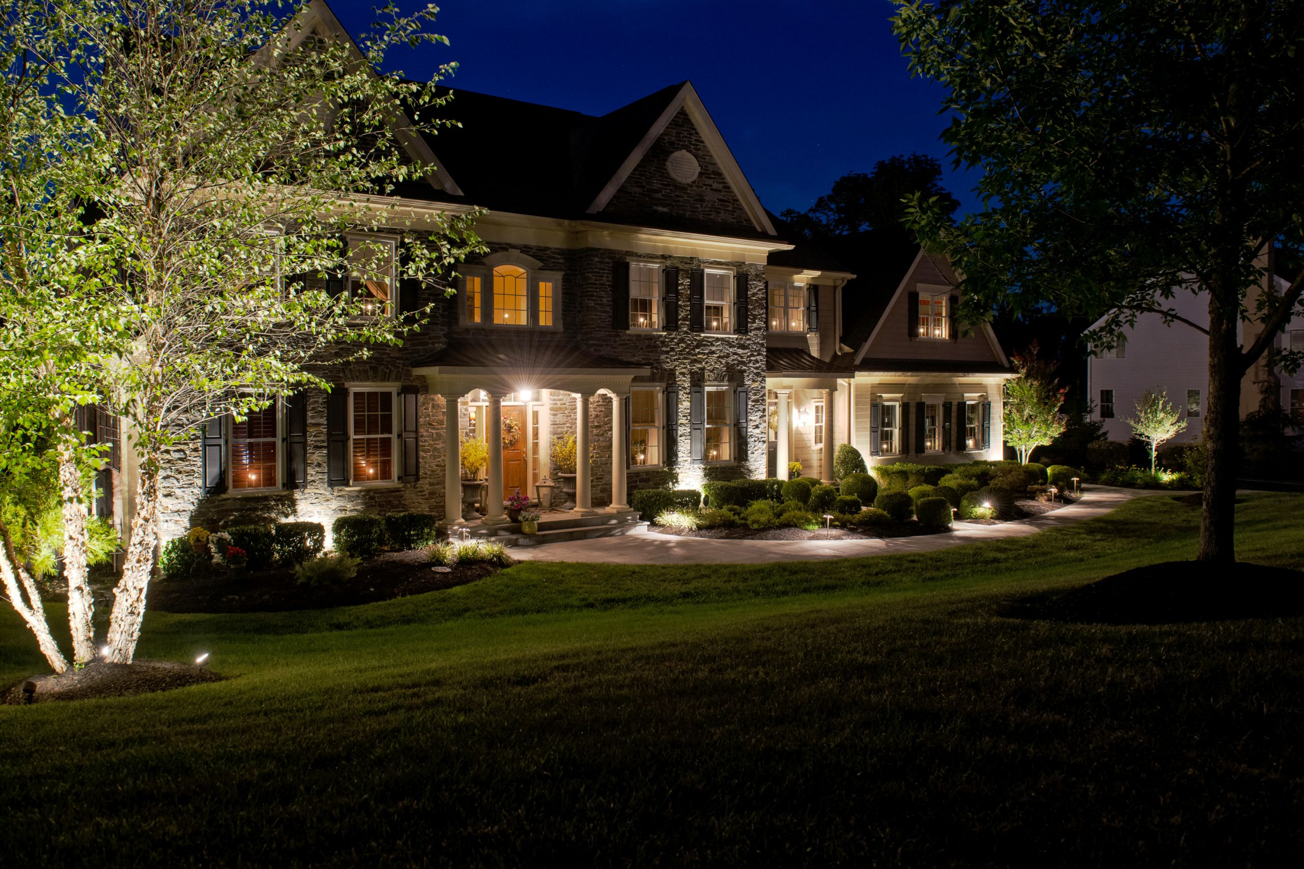 Landscape Lighting Ideas  Discover Outdoor Residential Lighting by Burkholder