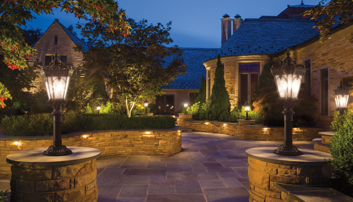 Landscape Lighting Ideas  Landscape Lighting Ideas for Walkways Why and How Gross