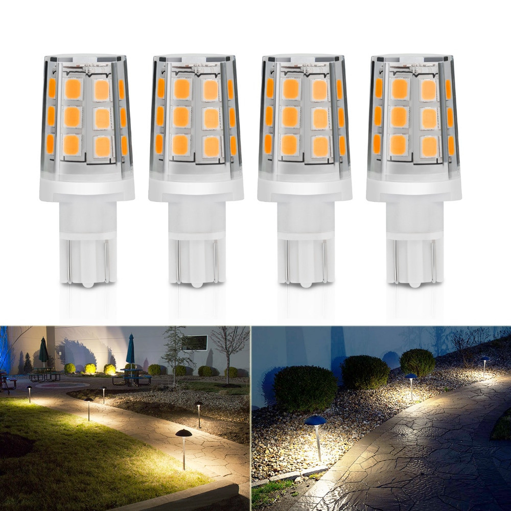Landscape Lighting Replacement Bulbs  Kohree 4 Packs 2 5W LED Replacement Landscape Pathway