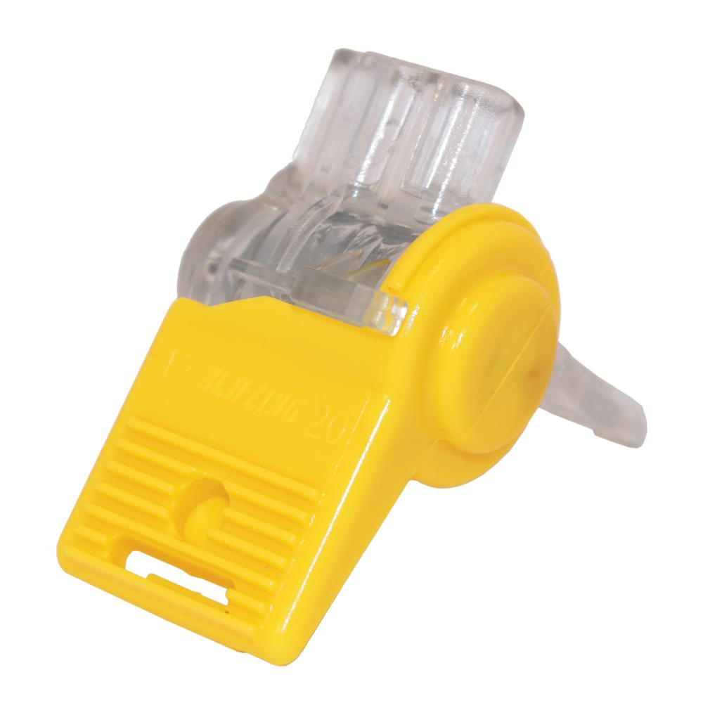 Landscape Lighting Wire Connectors  Clear and Yellow Waterproof Wire Connector 20 Pack BVS2