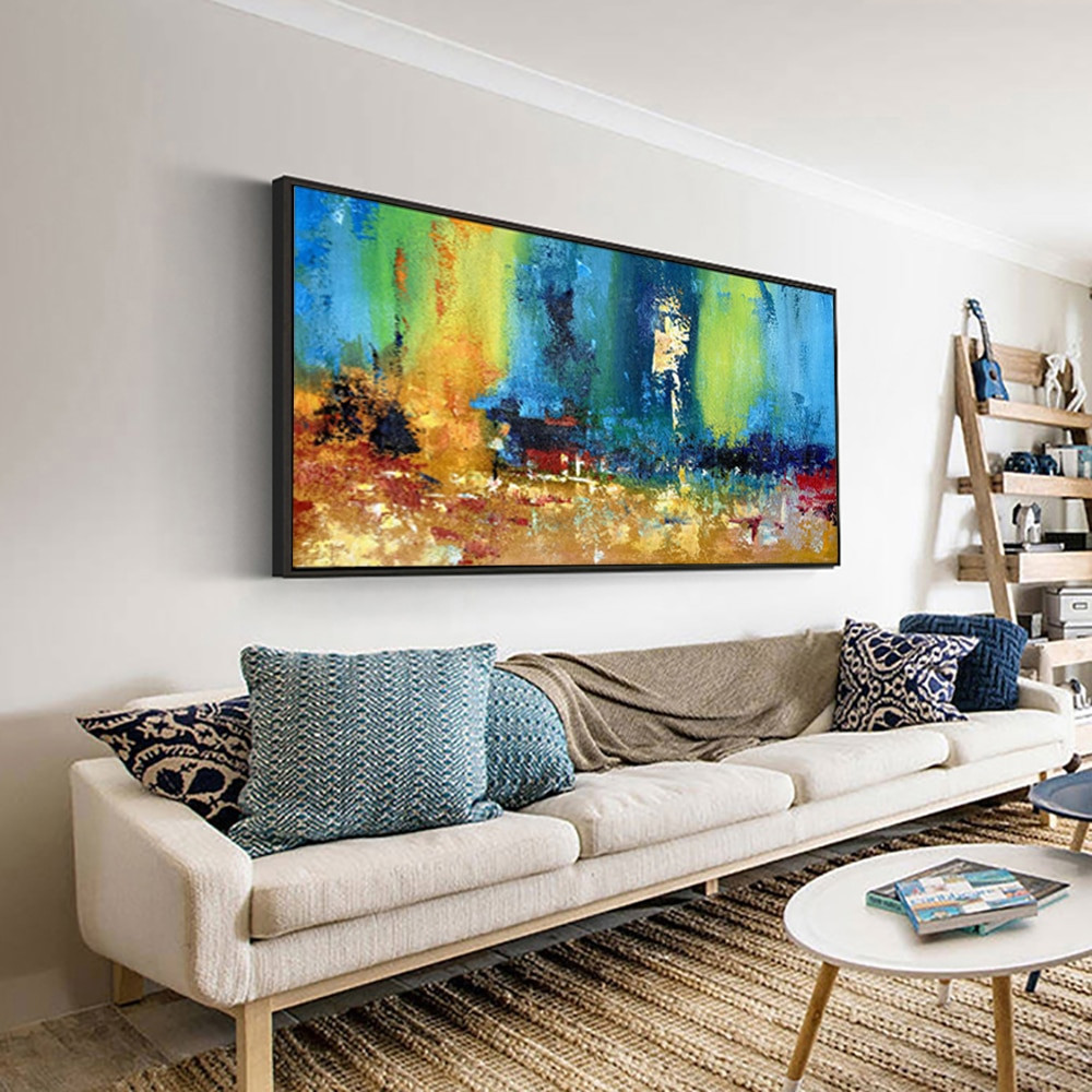 Large Paintings For Living Room  large paintings for living room wall oil painting canvas