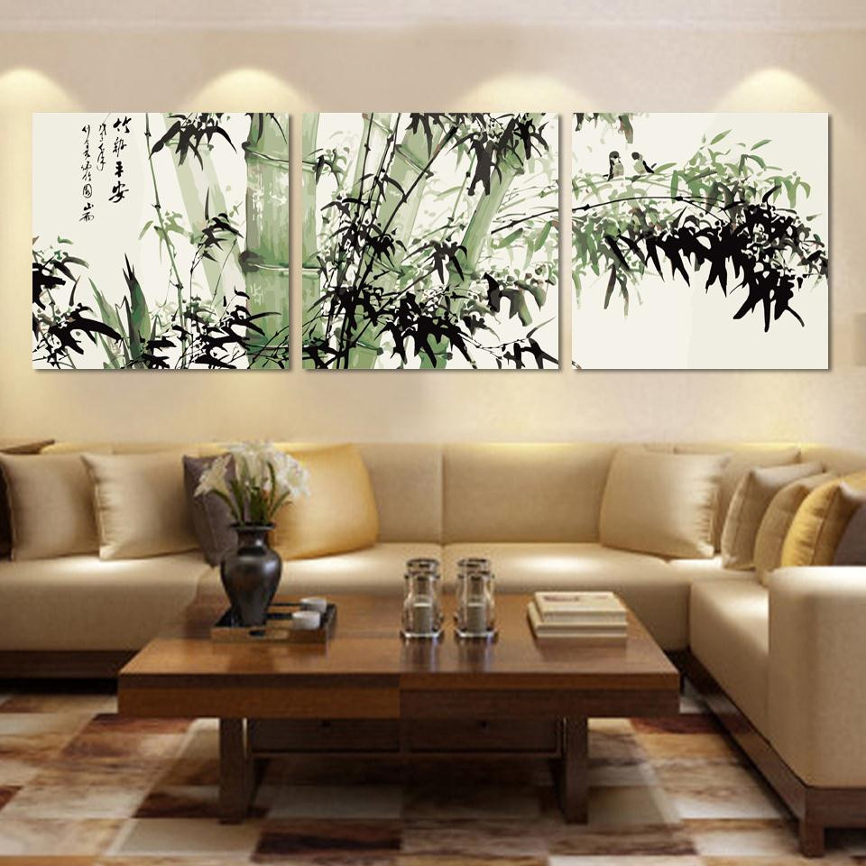 Large Paintings For Living Room  Adorable Canvas Wall Art as the Wall Decor of your