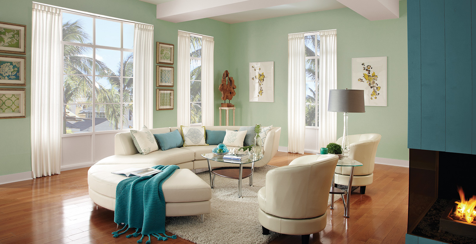 Living Room Color Photos  Calming Living Room Ideas and Inspirational Paint Colors