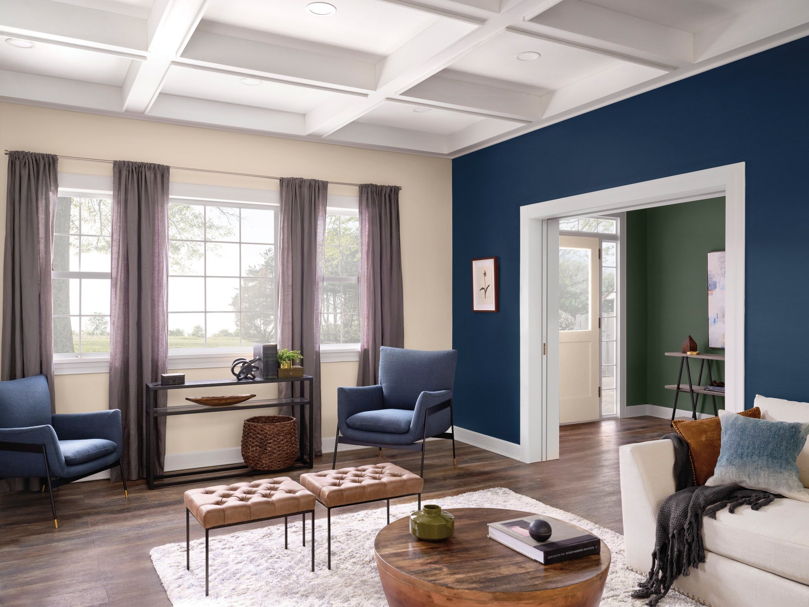 Living Room Color Schemes 2020  The Color Trends We'll Be Seeing in 2020 According to