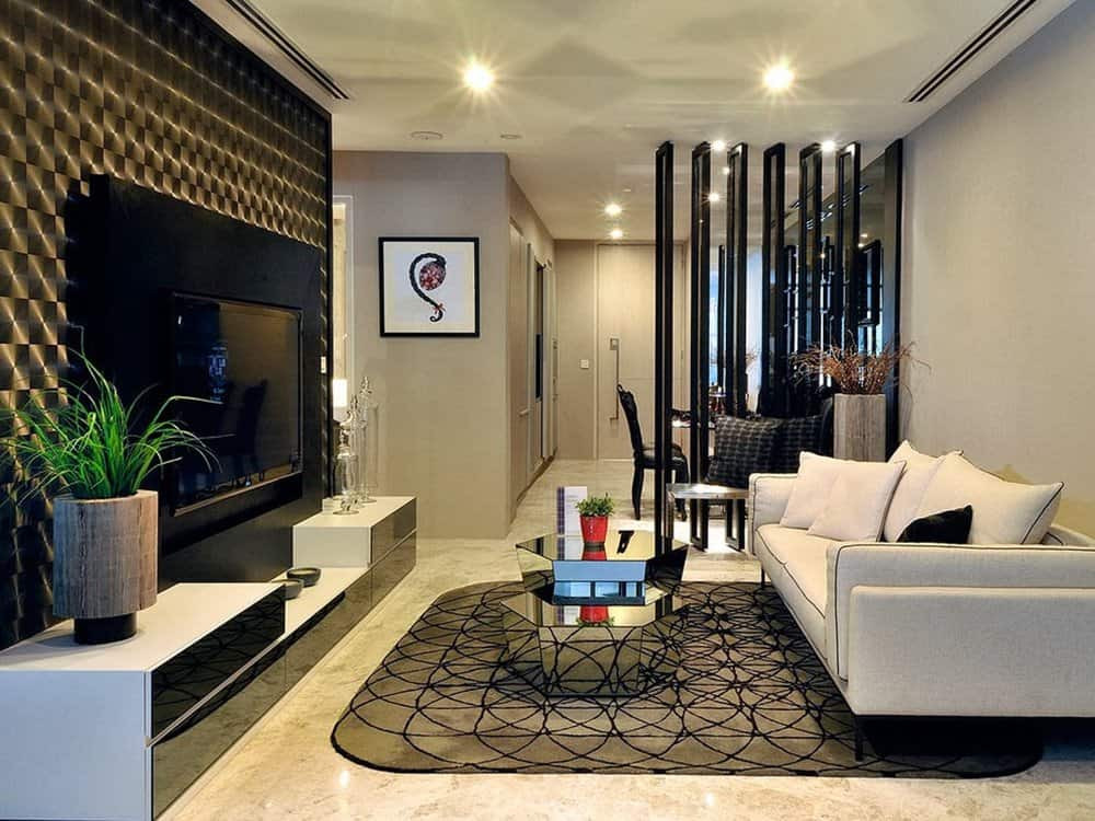 Living Room Partition Ideas  Contemporary Room Dividers That Will Add Style To Your