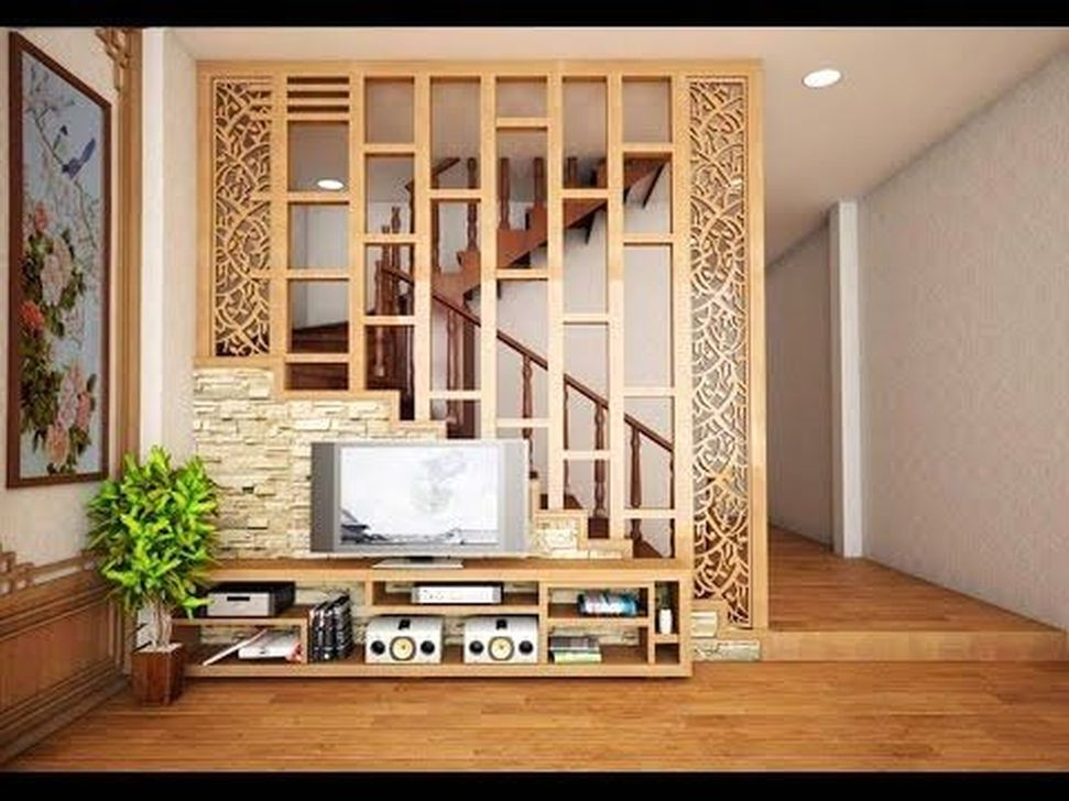 Living Room Partition Ideas  57 Cool Partition Living Room Ideas HOMYSTYLE