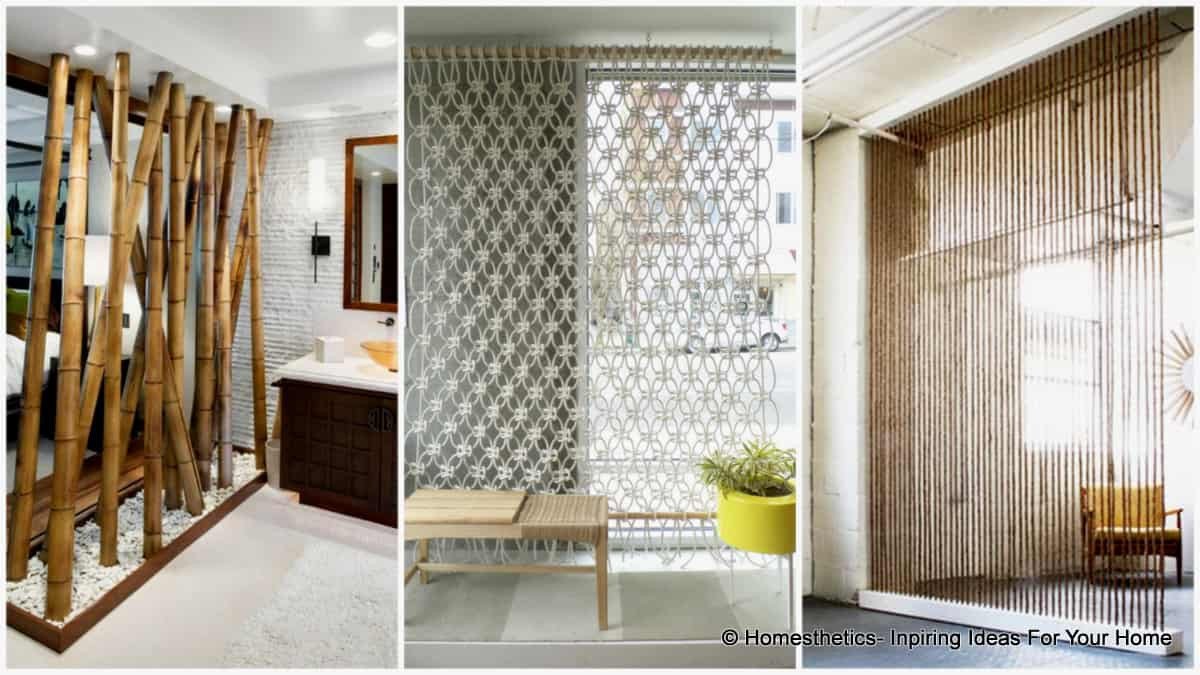 Living Room Partition Ideas  Top Ten DIY Room Dividers for Privacy in Style