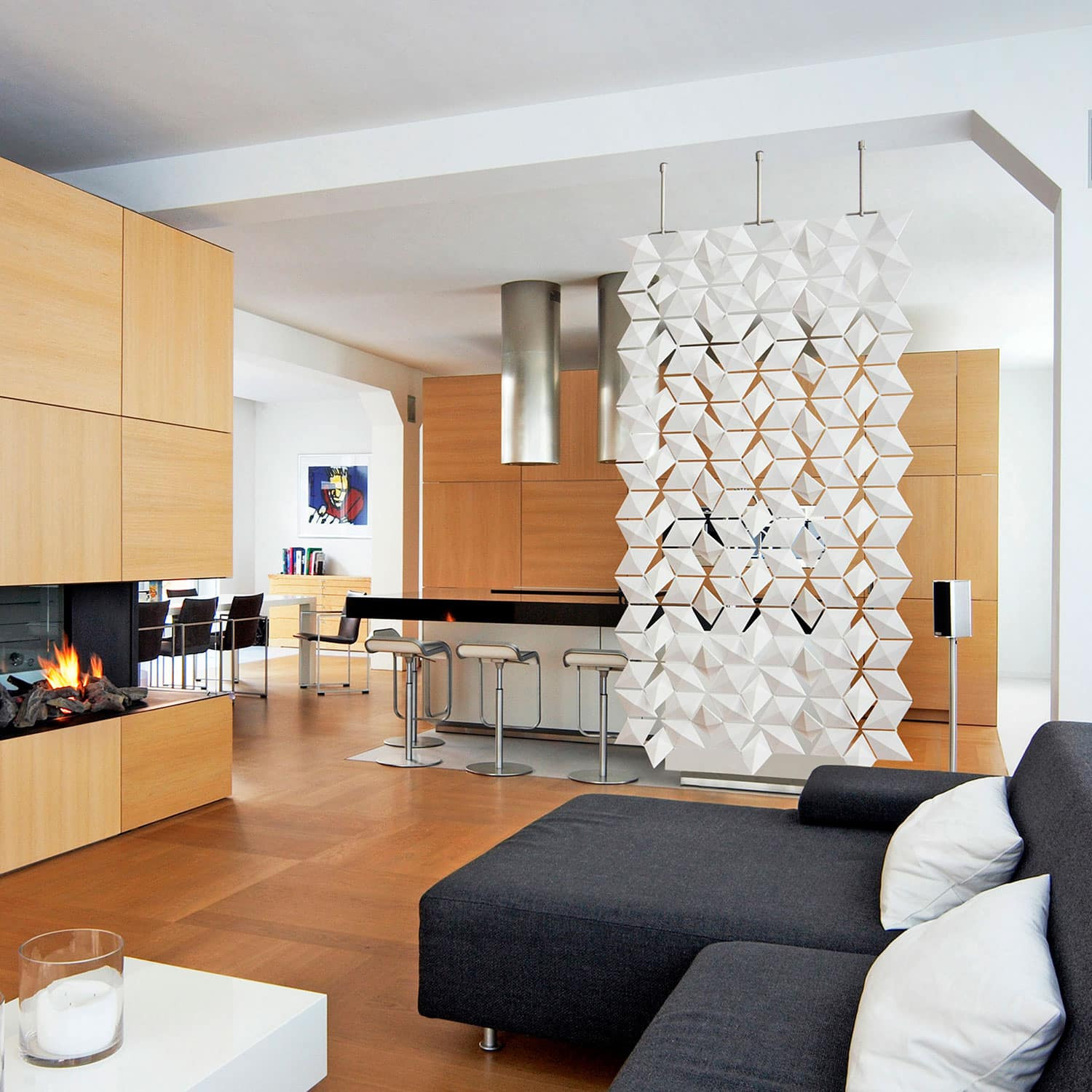 Living Room Partition Ideas  Living room and dining room divider • Ideas Showcase