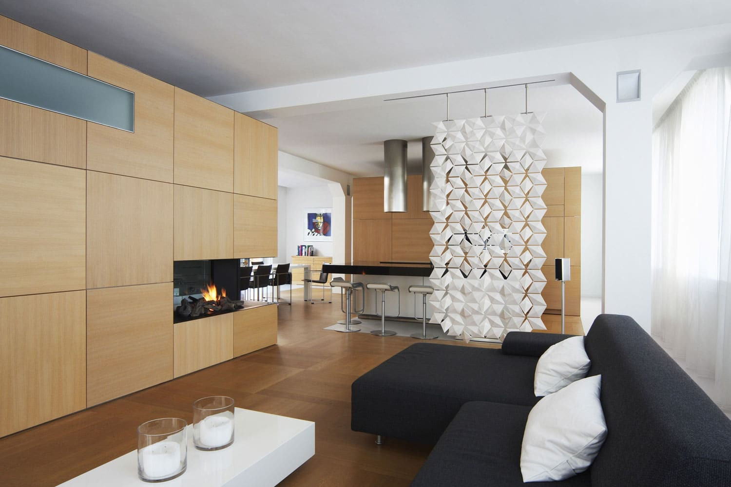 Living Room Partition Ideas  Stunning Living Room and Dining Room Divider • Ideas Showcase