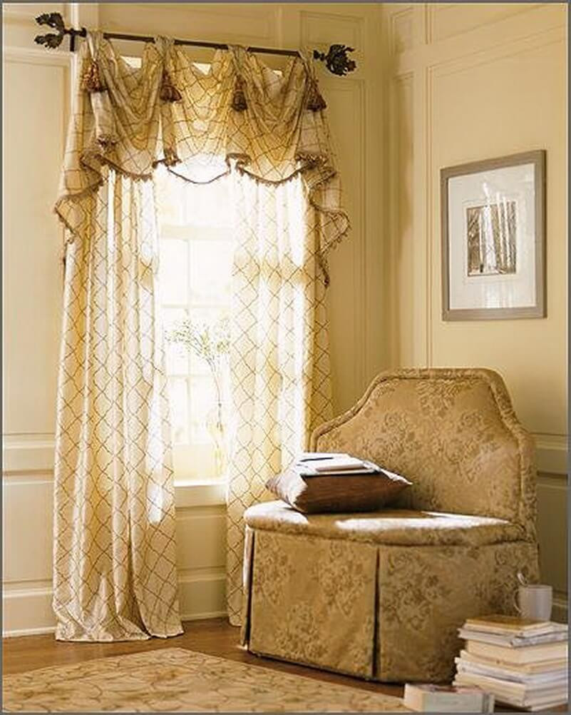 Living Room Window Curtains  20 Best Curtain Ideas for Living Room 2017 TheyDesign