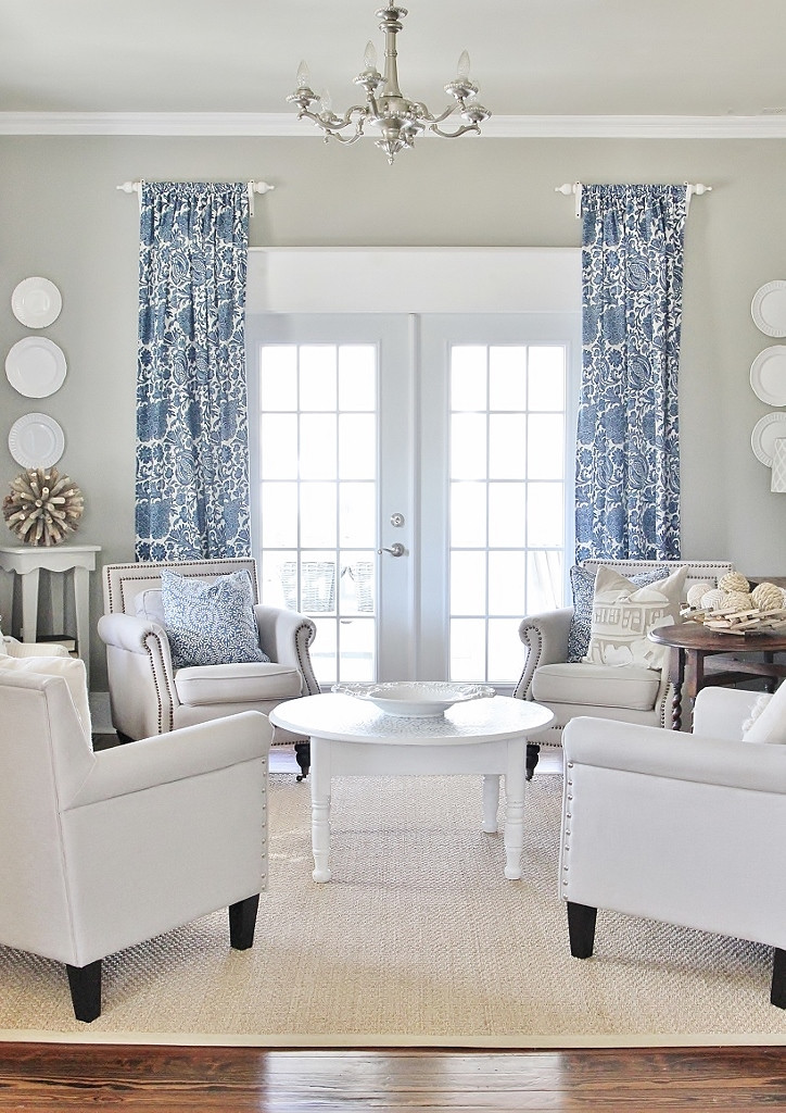 Living Room Window Curtains  Simple Tip to Make Your Windows Appear r