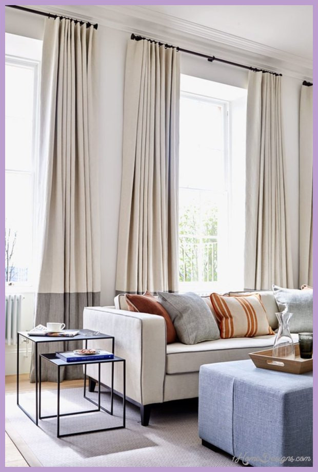 Living Room Window Curtains  17 Best Ideas For Modern Living Room Curtains