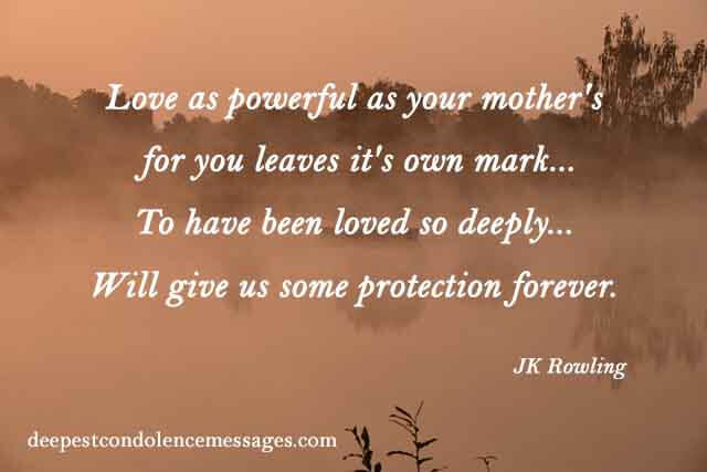 Losing Your Mother Quotes  90 Sympathy Quotes Find the right words in this moment