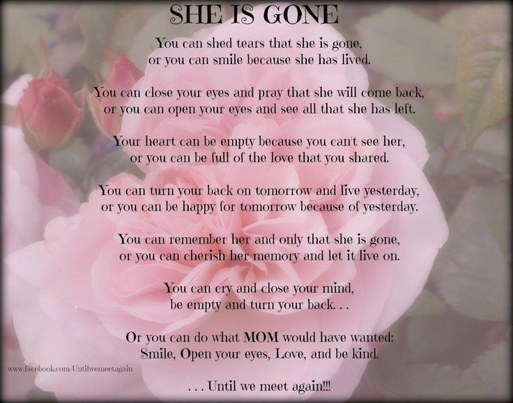 Losing Your Mother Quotes  Losing A Daughter Memorial Quotes QuotesGram