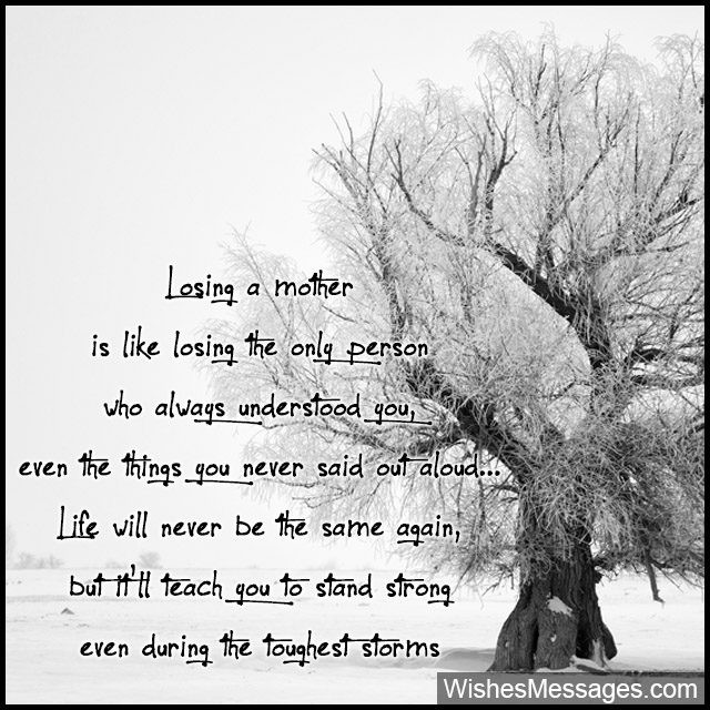 Losing Your Mother Quotes  Condolence Messages for Mother's Death Sympathy Quotes