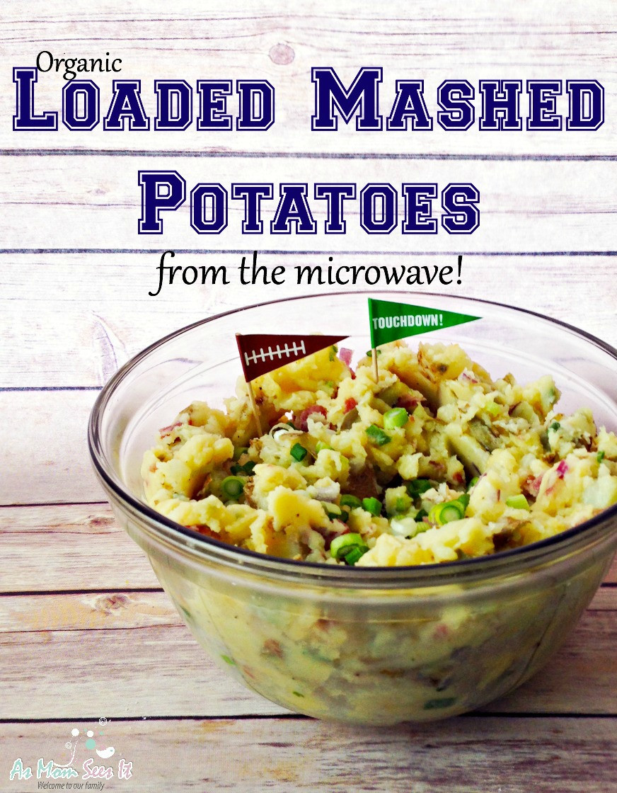 Make Mashed Potatoes In Microwave  Organic Loaded Mashed Potatoes You Can Make In The