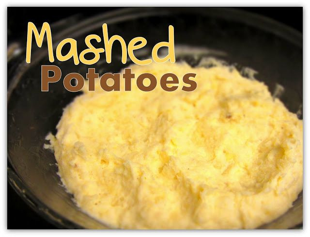 Make Mashed Potatoes In Microwave  Mashed Potato Microwave Miracle