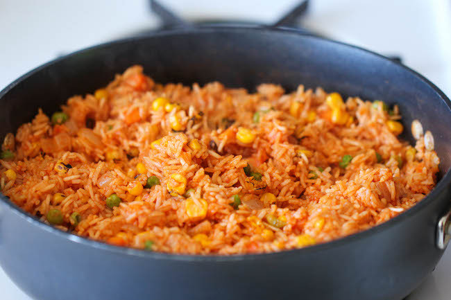 Making Mexican Rice  How to make the Mexican Rice NaijaPr