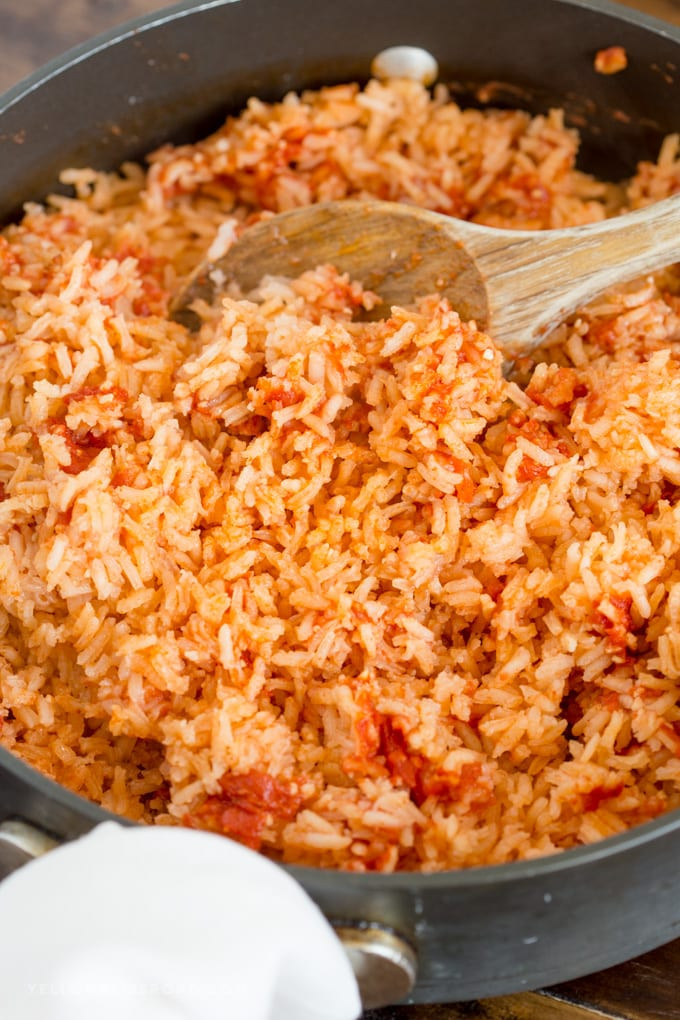 Making Mexican Rice  How to Make Authentic Mexican Rice