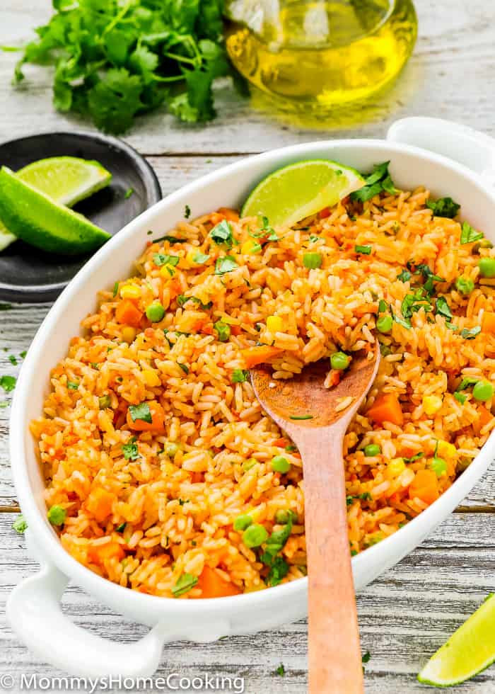 Making Mexican Rice  Easy Mexican Rice Mommy s Home Cooking