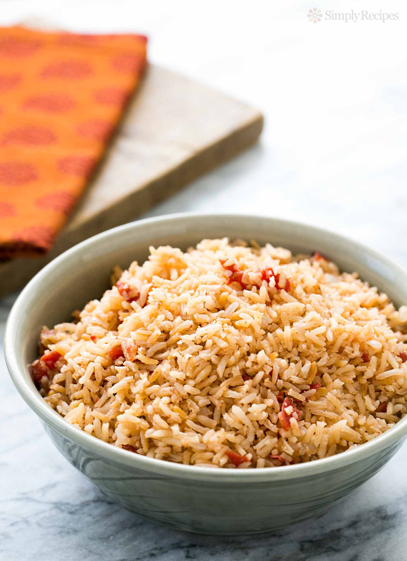 Making Mexican Rice  Spanish Rice Recipe