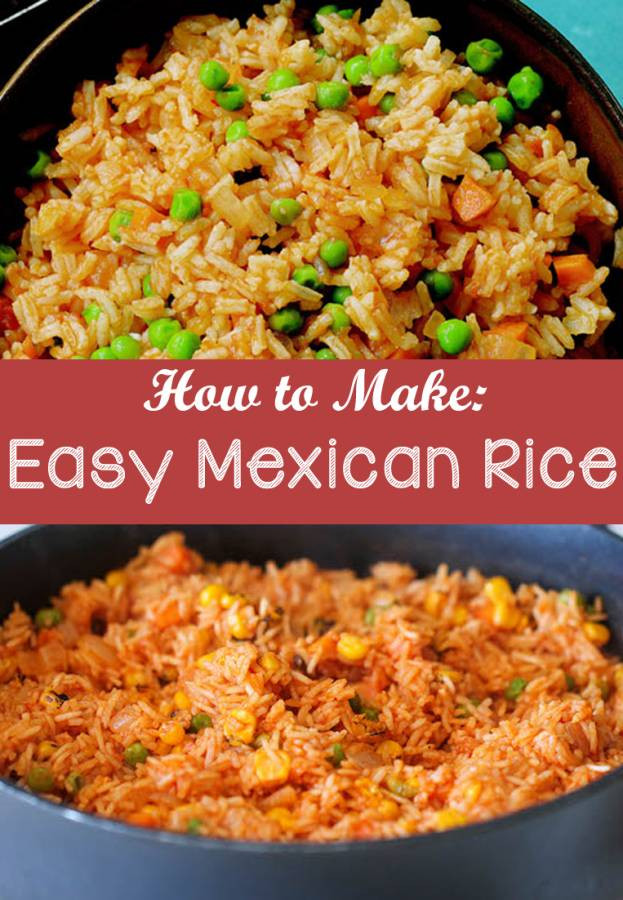 Making Mexican Rice  Easy Mexican Rice Recipe The Bud Diet