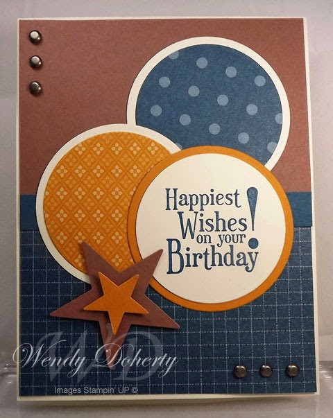 Masculine Birthday Wishes  Stamping Styles Masculine Birthday Wishes