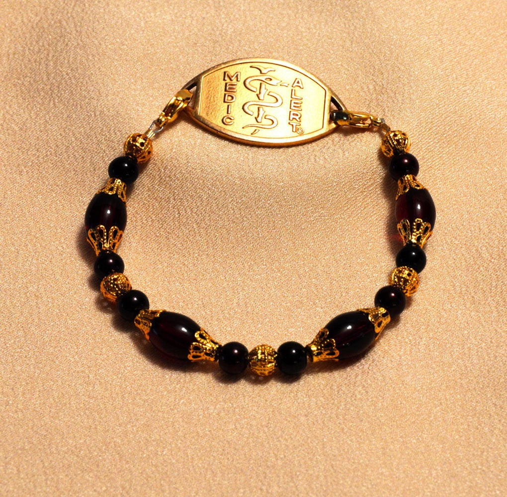 Medic Alert Bracelet  Medic Alert Bracelet Medic Alert Jewelry Medical by