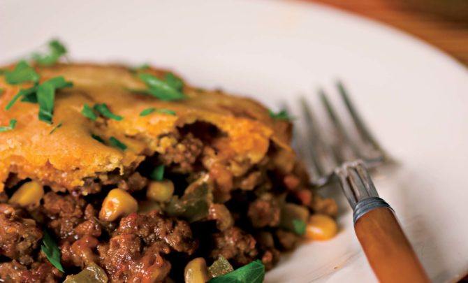 Mexican Casserole With Cornbread Topping  Mexican Casserole with Cornbread Topping Recipe Relish