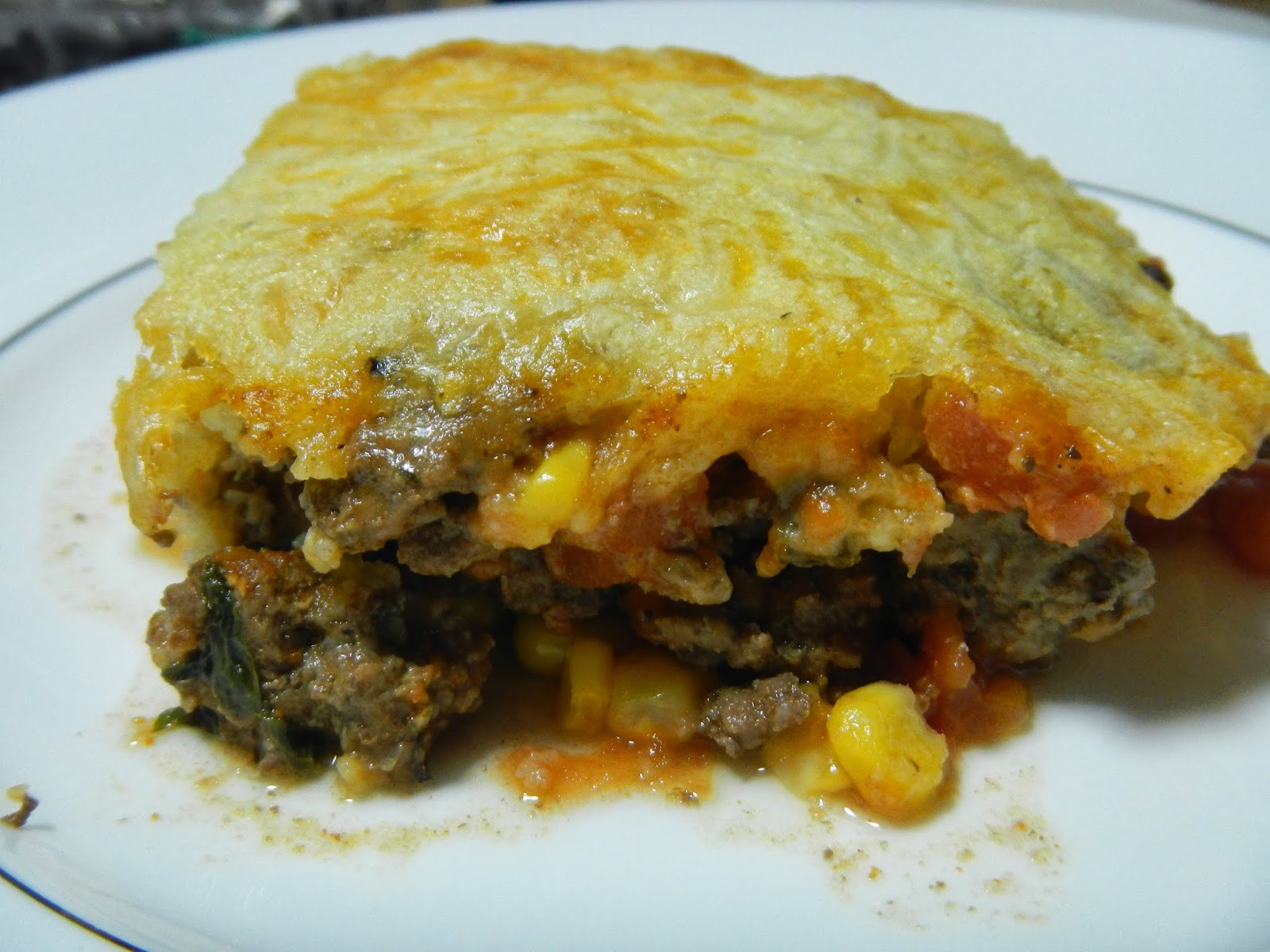 Mexican Casserole With Cornbread Topping  Liz s Livelihood Mexican Cornbread Casserole