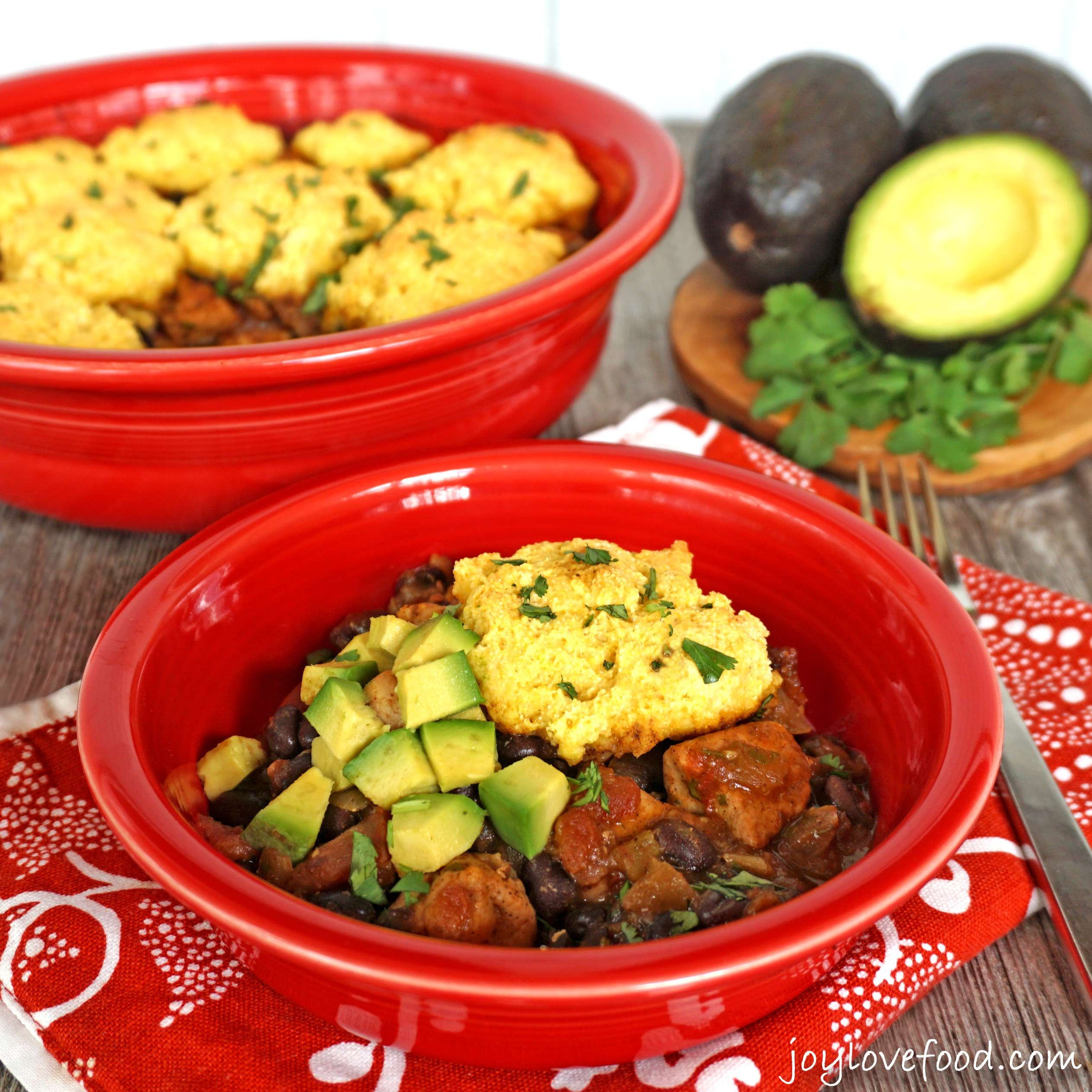 Mexican Casserole With Cornbread Topping  Tex Mex Chicken Casserole with Cornbread Topping