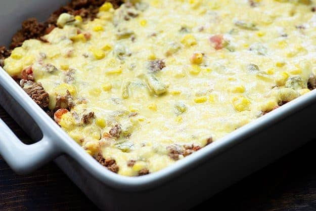 Mexican Casserole With Cornbread Topping  Mexican Cornbread Casserole — Buns In My Oven