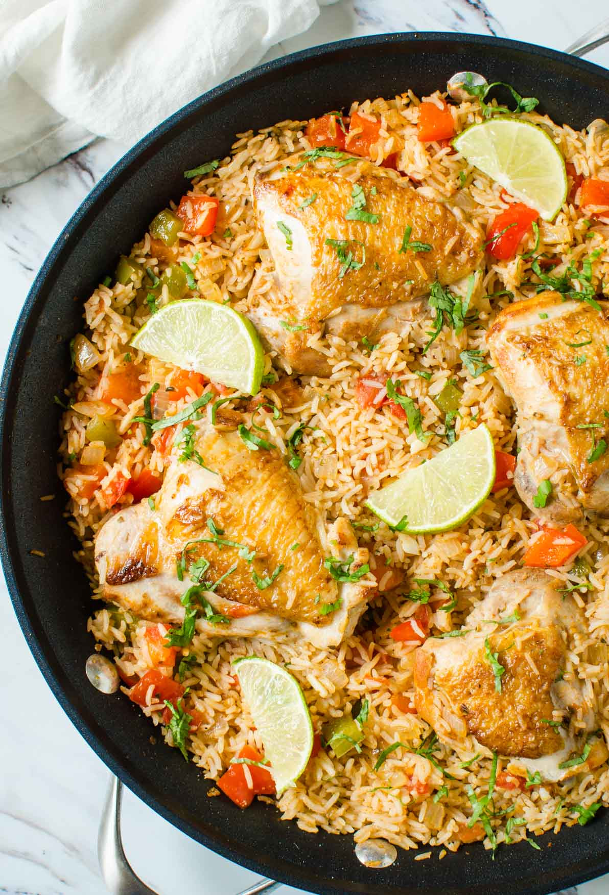 Mexican Chicken And Rice Recipe  e Pot Healthy Mexican Chicken Rice