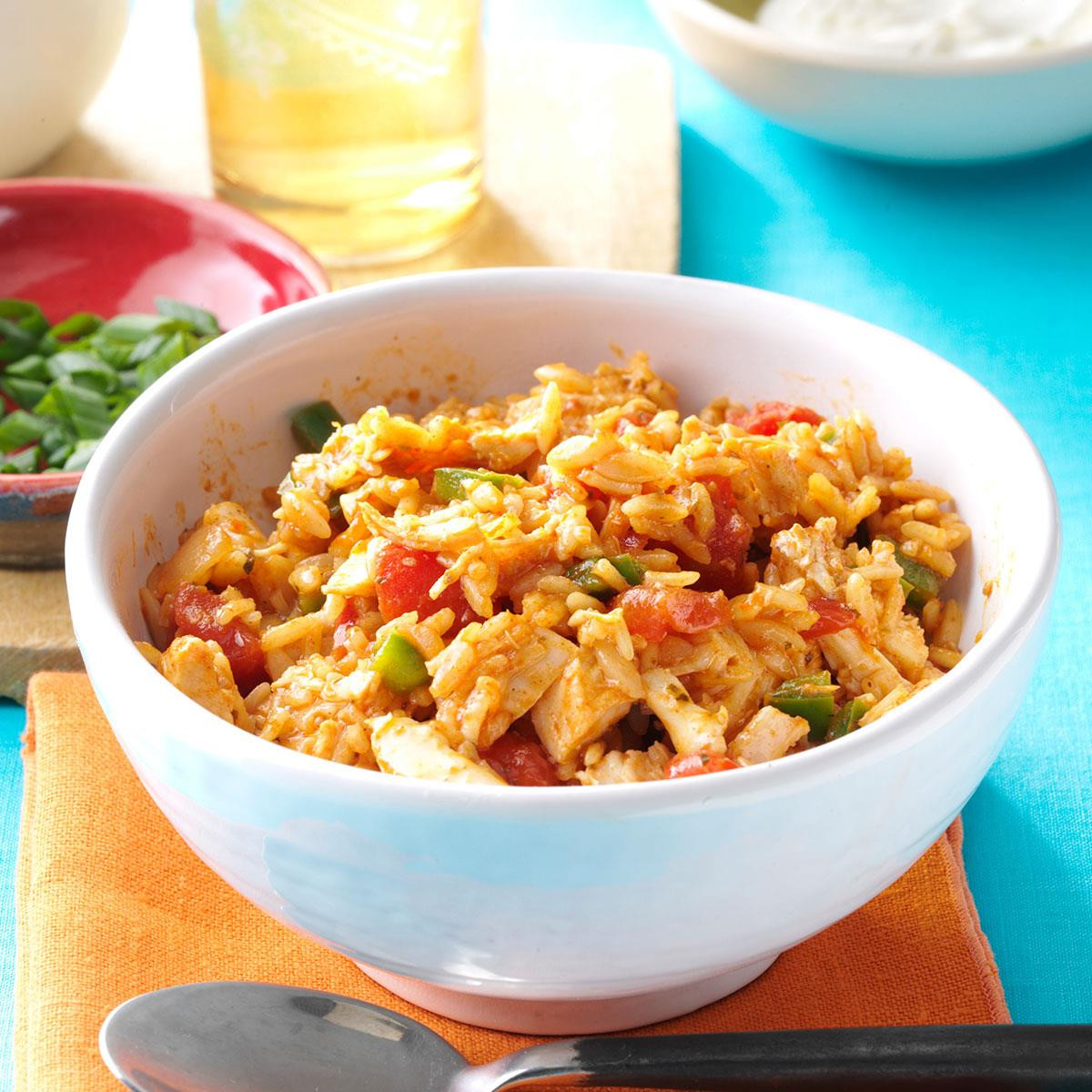 Mexican Chicken And Rice Recipe  Mexican Rice with Chicken Recipe