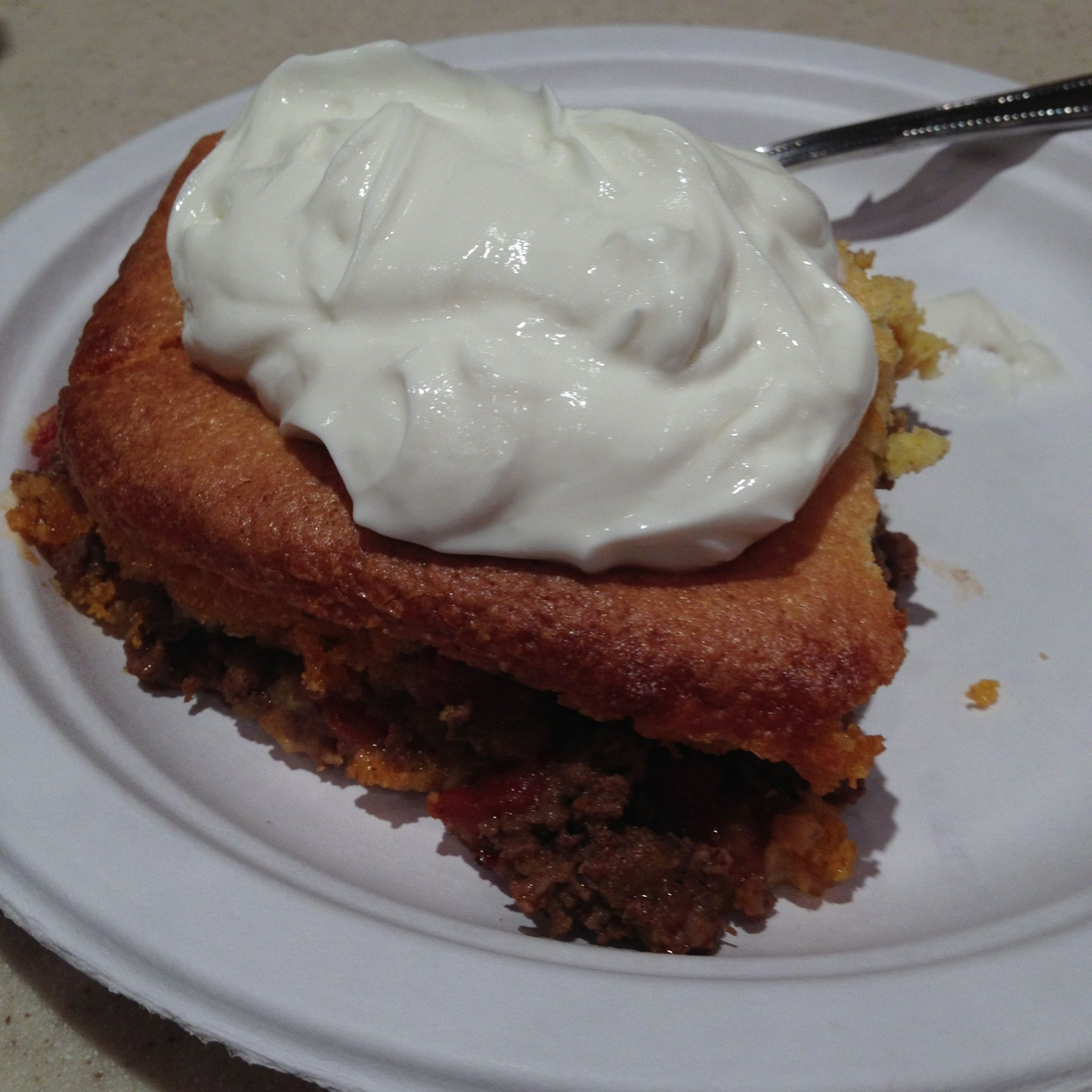 Mexican Cornbread With Ground Beef And Rotel  Mexican Cornbread Casserole Prepare 2 boxes of Jiffy